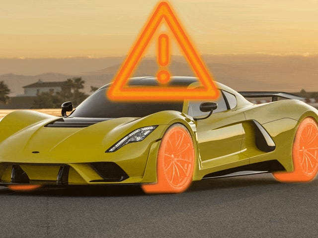 Four Reasons To Be Skeptical That Hennessey's Venom F5 Will Break The 300 MPH Barrier