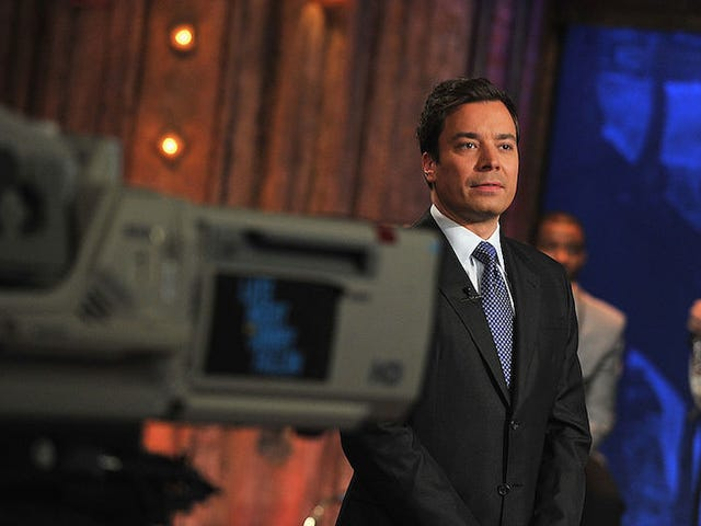 Jimmy Fallon Seems Okay With Broadcasting Fluff: 'I Don't Want to Be Bullied Into Not Being Me'