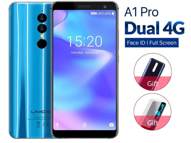 Umidigi A1 Pro Global Version 3/16 GB Smartphone Lowest to $97.99 on AliExpress