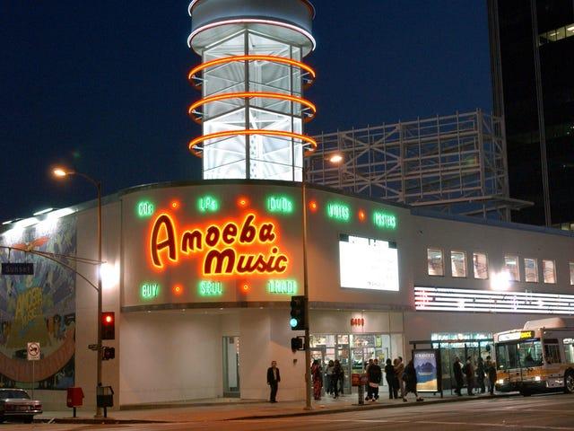 La ubicación de Sunset Boulevard de Amoeba Music no se volverá a abrir