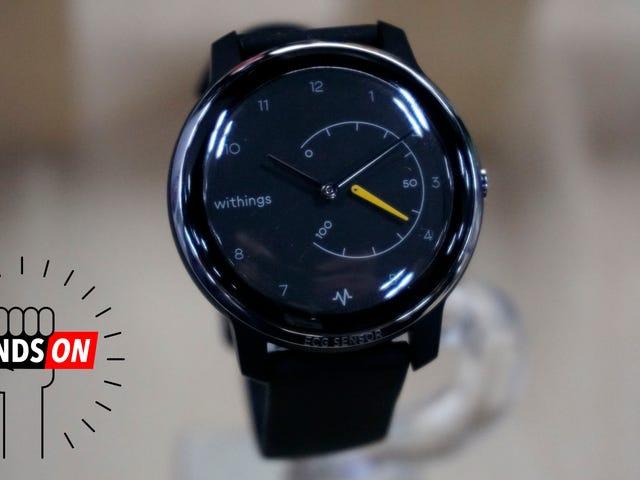 Withings lấy một trang từ Apple và thêm ECG vào Smartwatch mới của nó