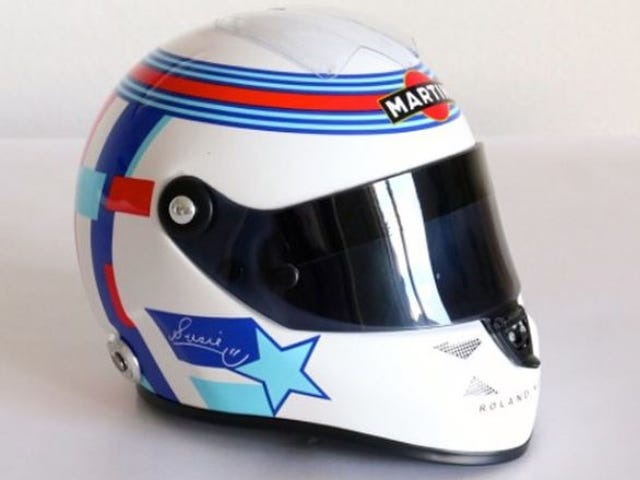 Susie Wolff's helmet is the perfect racing accessory...