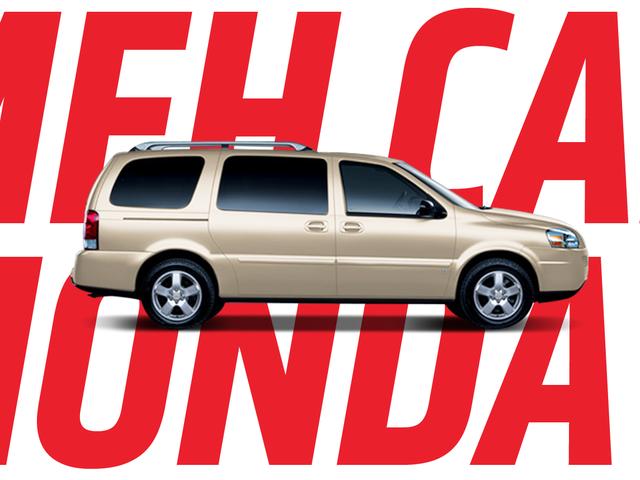 Meh Car Monday: Это будет первый раз, когда вы когда-либо думали о Chevy Uplander