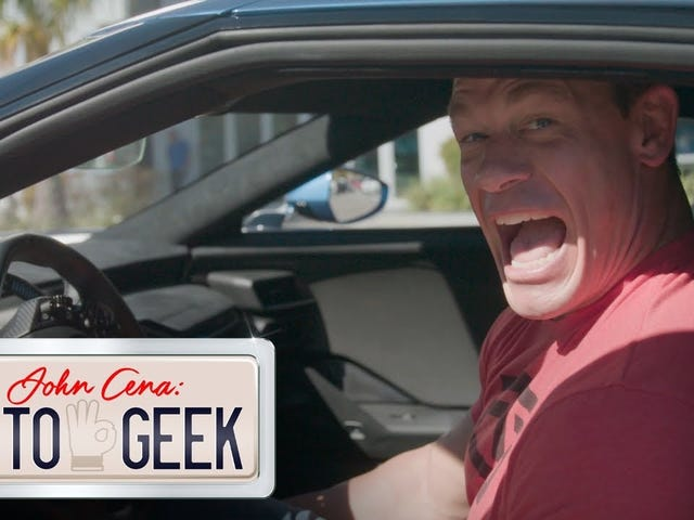 John Cena Says He Needed A Change Of Pants After Driving The Ford GT