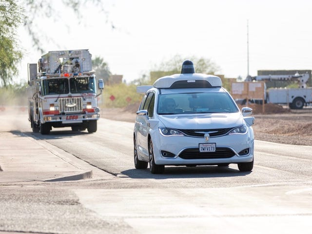 Google Didn't Actually Pay City To Use Emergency Vehicles In Driverless Car Test (Updated)