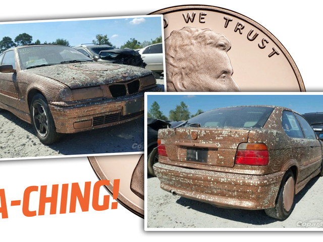 Denne Penny-Covered BMW Up For Auction er en fantastisk investering