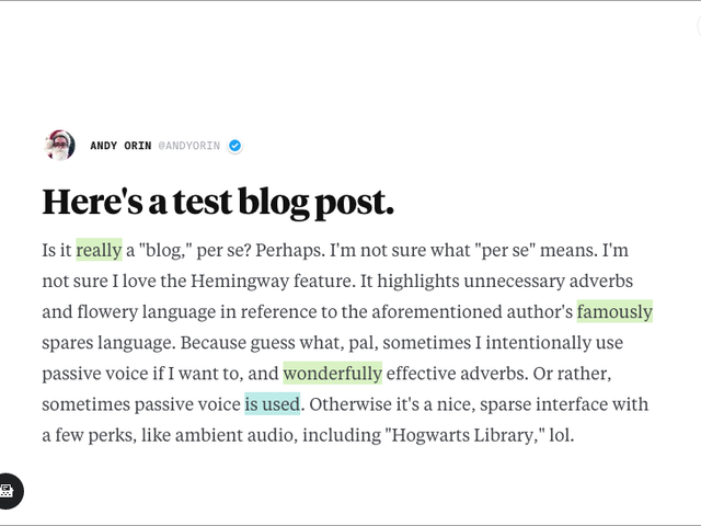 IO is a Free, Lightweight Writing Tool and Publishing Platform
