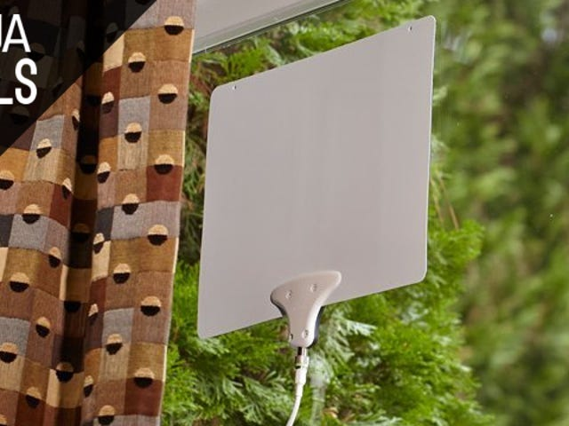 Your Favorite HDTV Antenna is Deeply Discounted Today, Plus More Deals