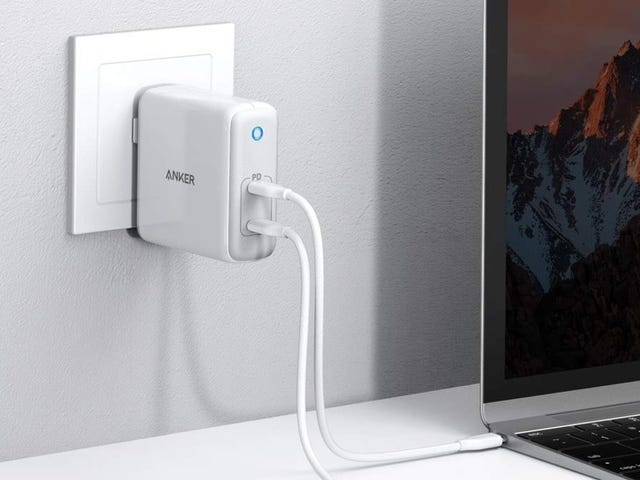 Charge Two Laptops At Once With the First Deal On Anker's 60W PowerPort Atom PD 2