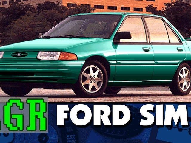 Lazy Game Reviews - Ford Simulator 7.0 (1996 Virtual Showroom)