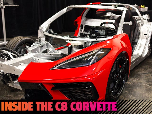 See The Bones Of The 2020 Corvette In This Sweet Cutaway