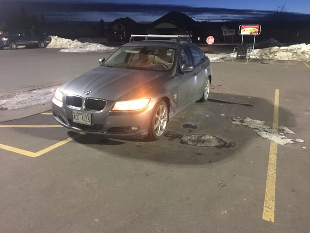 BMW Parking at it's Finest