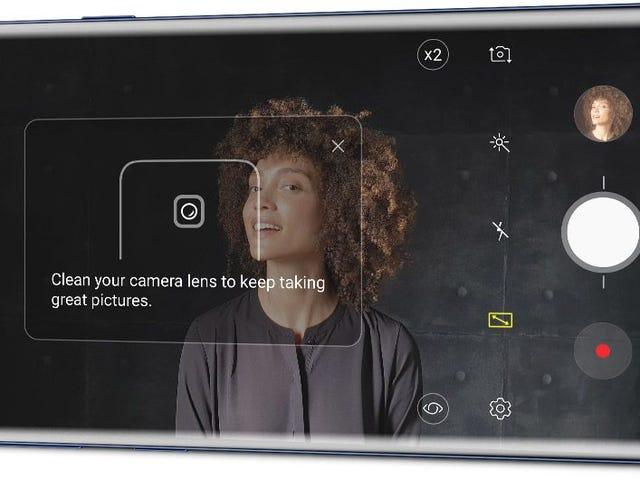 El Galaxy Note 9 te avisa de los defectos que hay en tus fotos