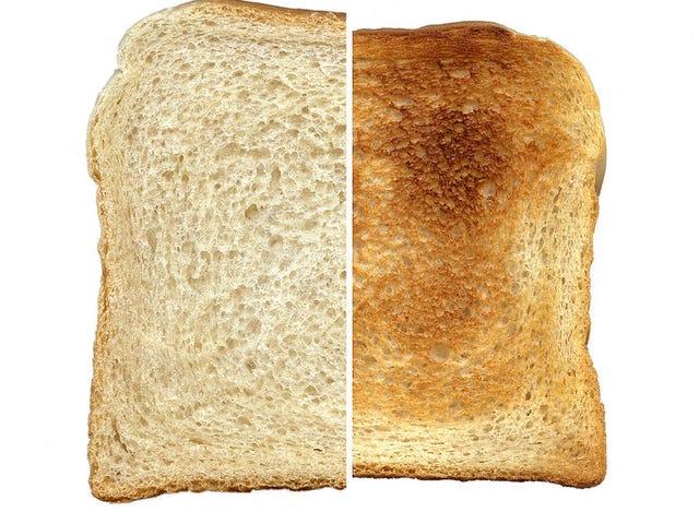 ขนมปังปิ้งเหงื่อ