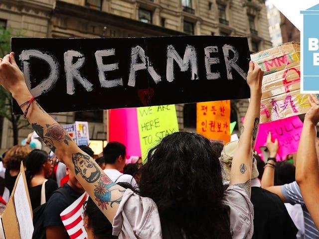 트럼프는 DACA를 끝낼 가능성이 높다. 강제 추방의 위험에 처한 백만명에 달하는 사람들