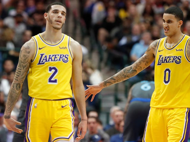 The Young Lakers Are Fucking This Up