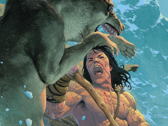 Esad Ribić showcases Conan's primal appeal in his fully painted Exodus