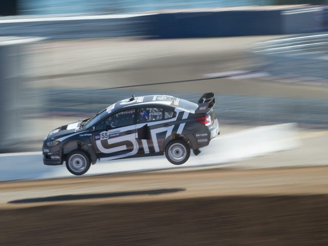 Global Rallycross Will Have An All-Electric Series In 2018