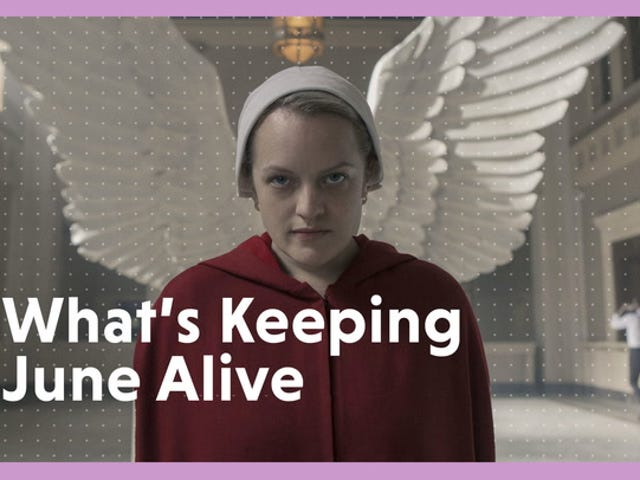 <i>The Handmaid's Tale's</i> Showrunner Shares What Keeps June Alive