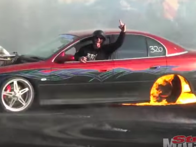 These Australians Burned Out So Hard They Melted the Fucking Bumper