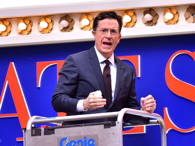 Colbert and The Late Show are coming back to TV next Monday