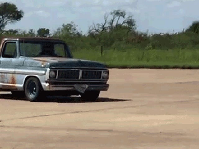 Yes But Can You Run A Rusty Old Ford Pickup In Autocross?