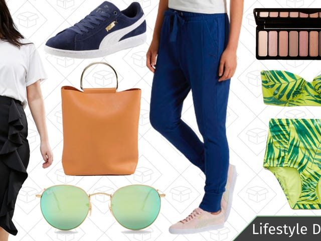 Tuesday's Best Lifestyle Deals: PUMA, e.l.f. Cosmetics, Aerie, Ray-Ban, and More