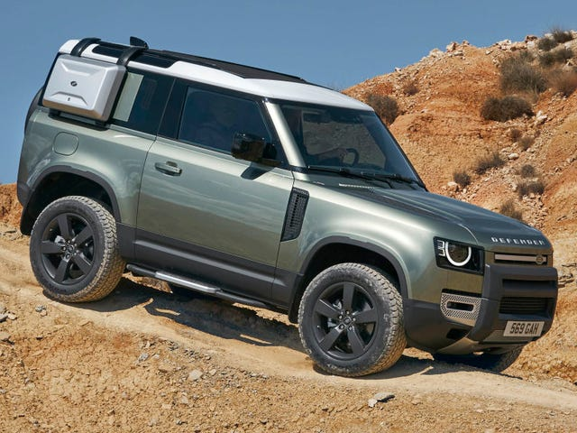 The 2020 Land Rover Defender Is Finally Here And It Looks Awesome