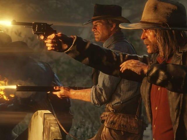 El multijugador de Read Dead Redemption 2 por fin llega esta semana