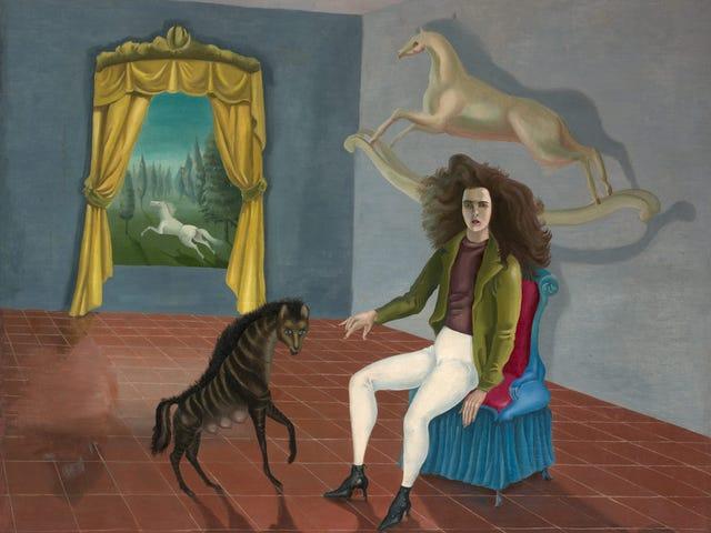 ภาพเหมือนตนเอง - Leonora Carrington
