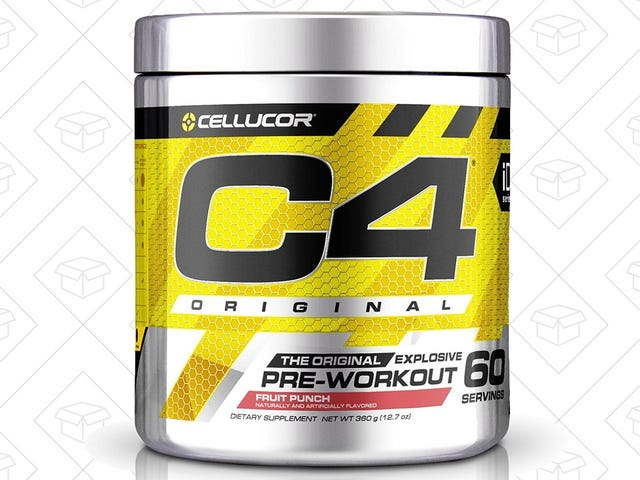 Save $6 On Your Next Jar of C4 Pre-Workout Supplement
