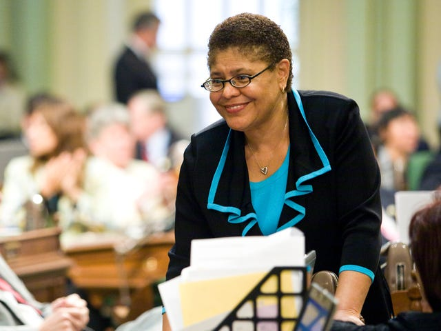 How Come No One in the Justice Department Can Explain the 'Black Identity Extremists' Reportto Rep. Karen Bass?