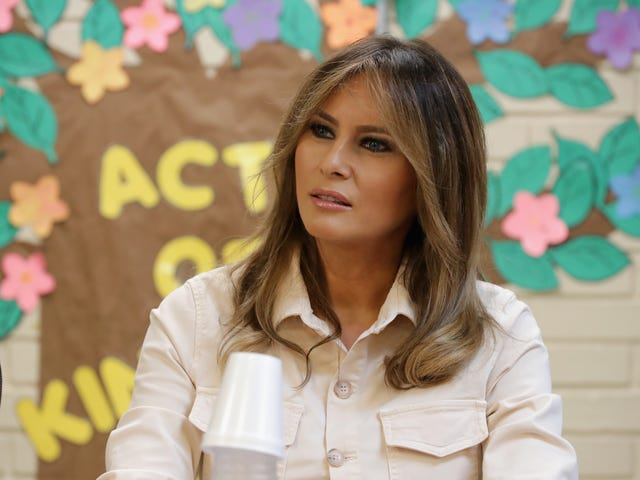 Melania Trump Made at Least $100,000 from News Organizations That Paid to Use Photos Designated for Only Positive Stories: Report