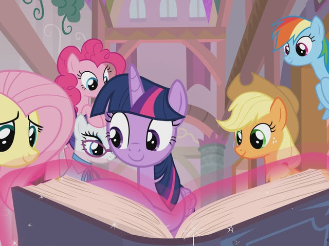 Musim My Little Pony Menjadi Persahabatan Ke Sekolah