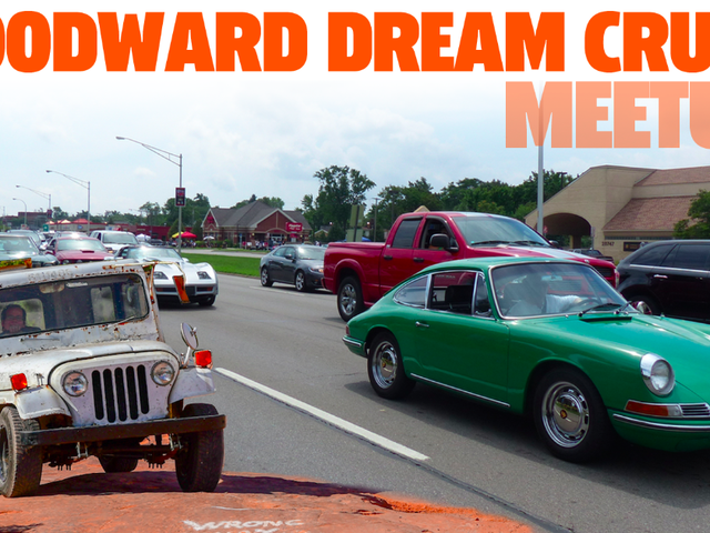 Detroit-Area Jalops: Join Us For The Woodward Dream Cruise Tomorrow Morning
