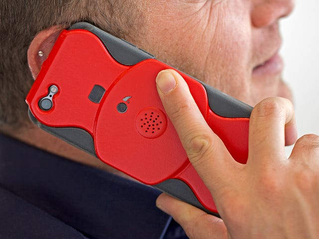 Μυστικά καταγράψτε οποιαδήποτε τηλεφωνική κλήση με αυτή τη θρυλική θήκη iPhone