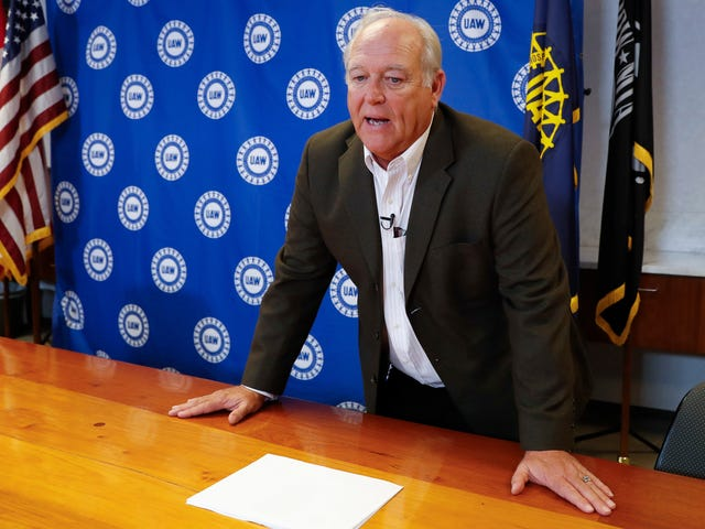 L'ancien président de l'UAW a été pris pour cible par le gouvernement fédéral