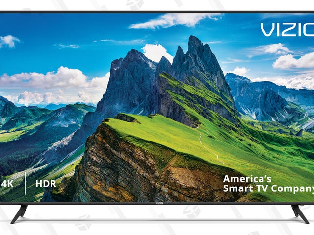 """This $450 Vizio 65"""" Smart TV Is An Incredible Bargain"""