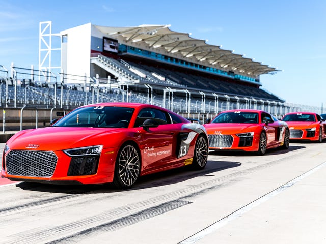 The Audi Driving Experience Lets You Blast Around An F1 Track In Someone Else's R8