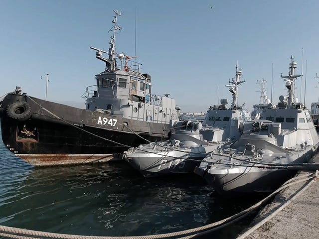 Russia Returned Captured Ukrainian Ships With The Toilets Torn Out