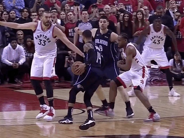 The Raptors Were Never Going To Be Able To Stop D.J. Augustin From Becoming A Postseason Hero