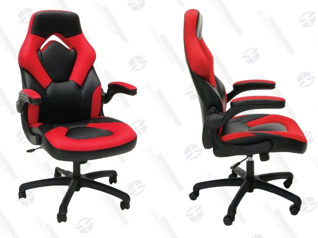 Game In Comfort With This Very Nice $69 Chair