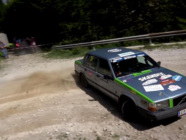 Oma tilini mieluummin en katso tätä Volvo 740 Rally Video -ohjelmaa