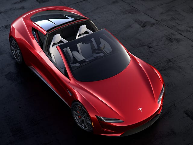 The new Tesla Roadster isn't a roadster, it's a targa