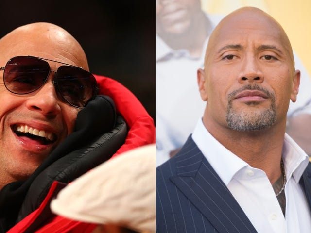 Oh, Shit: The Rock Has Been Feuding with Vin Diesel This Whole Time