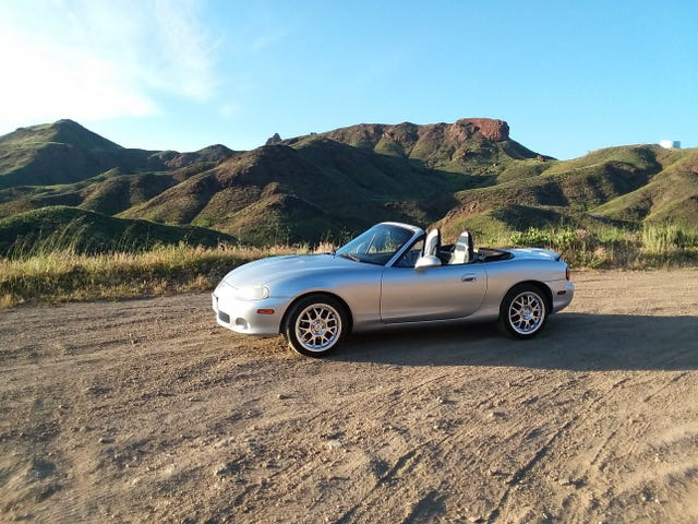 First Maintenance and Mod performed on the Miata