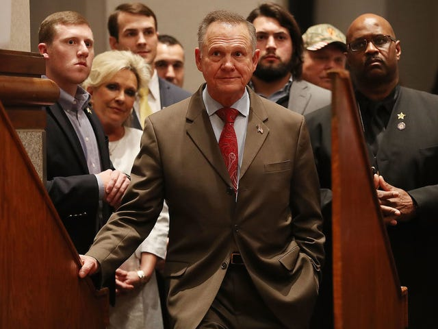 Roy Moore Continues to Not Take No for an Answer, Files Last-Minute Voter Fraud Complaint [UPDATED]