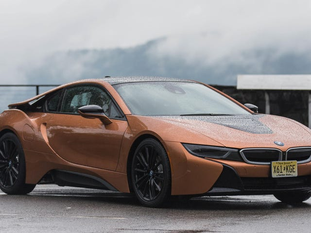 Dead: BMW i8, Reportedly