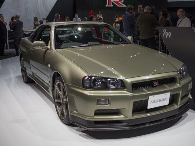Nissan Is Making Parts Again for the R34 Skyline You Totally Own in America Legally (*Wink, Wink*)