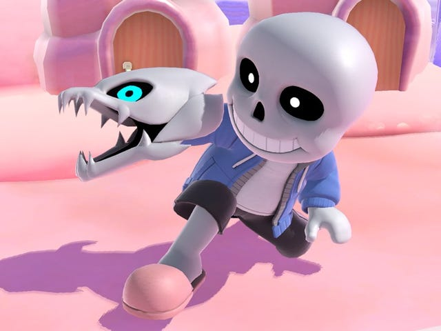 Undertale's Sans Joins Smash Bros. As A Mii Fighter Costume